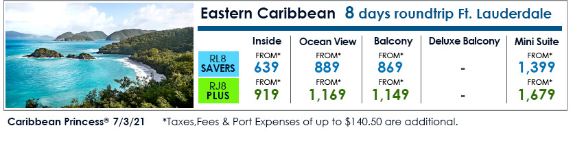 Princess Cruises:Cruise Deals and Air Steals!