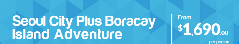 Seoul City Plus Boracay Island Adventure From $1,690